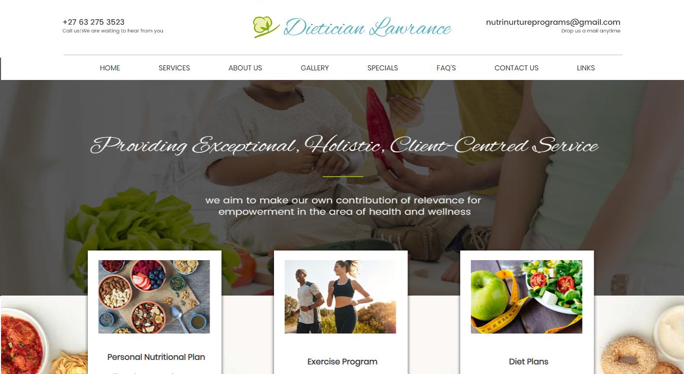 dieticianlawrance.co.za