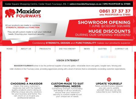 maxidorfourways.co.za